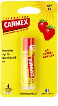 Carmex Strawberry Moisturising Lip Balm SPF 15