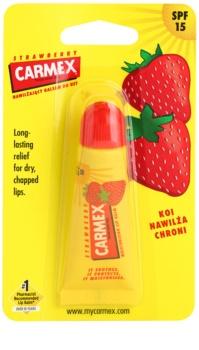 Carmex Strawberry balzam na pery v tube SPF 15