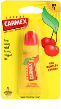 Carmex Cherry bálsamo para lábios em tubo SPF 15