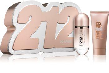 Carolina Herrera 212 VIP Rosé darčeková sada IX. pre ženy