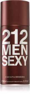 Carolina Herrera 212 Sexy Men desodorizante em spray para homens
