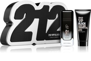 Carolina Herrera 212 VIP Black ajándékszett X. uraknak