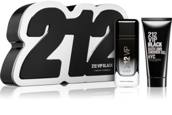 Carolina Herrera 212 VIP Black Gift Set X. for Men