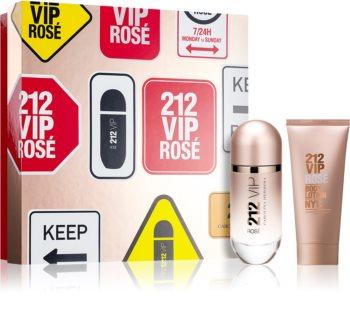 Carolina Herrera 212 VIP Rosé dárková sada pro ženy