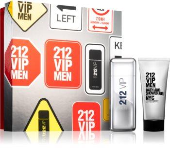 Carolina Herrera 212 VIP Men set cadou V. pentru bărbați