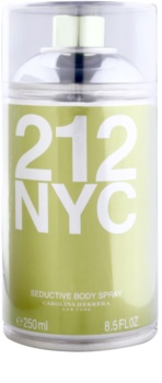 Carolina Herrera 212 NYC spray corporal para mujer 250 ml