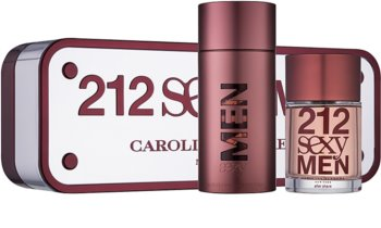 Carolina Herrera 212 Sexy Men coffret V.