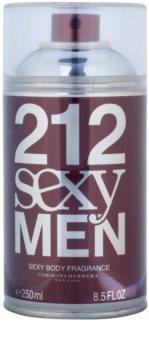Carolina Herrera 212 Sexy Men spray de corpo para homens 250 ml