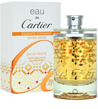 Cartier Eau de Cartier Essence d´Orange Limited Edition 2011 Eau de Toilette unissexo 100 ml