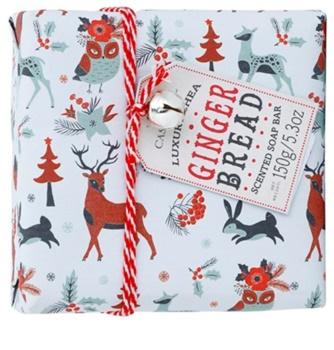 Castelbel Ginger Biscotti Happy Holidays sabonete português de luxo