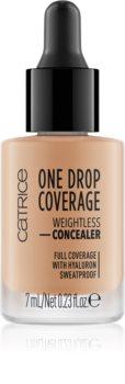 Catrice One Drop Coverage tekutý korektor