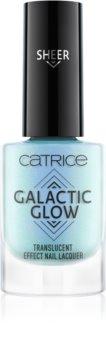 Catrice Galactic Glow Transluscent Effect лак для нігтів з голографічним ефектом