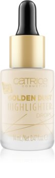 Catrice Golden Dust Liquid Highlighter with Pipette Stopper