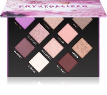 Catrice Crystallized Rose Quartz paleta farduri de ochi