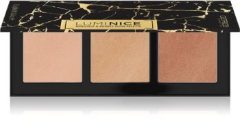 Catrice Luminice Highlight & Bronze Glow highliting Puder Palette