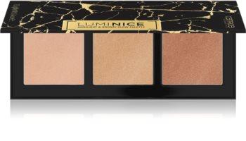 Catrice Luminice Highlight & Bronze Glow paleta pudrów rozświetlających