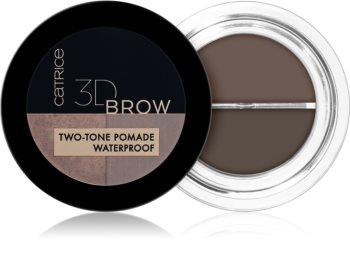 Catrice 3D Brow Two-Tone pomáda na obočie 2 v 1