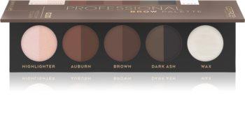 Catrice Professional Brow Palette paleta za ličenje obrvi