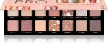 Catrice PRO Next - Gen Nudes paletka očních stínů