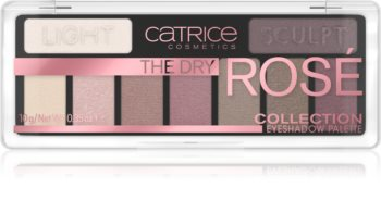 Catrice The Dry Rosé Collection paletka očních stínů