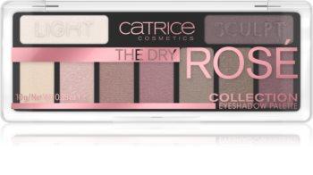 Catrice The Dry Rosé Collection szemhéjfesték paletta