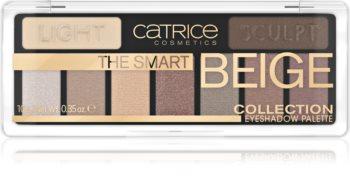 Catrice The Smart Beige Collection paletă cu farduri de ochi