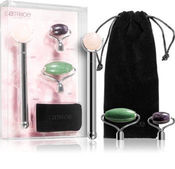 Catrice Gemstone Facial Roller Kit kozmetika szett