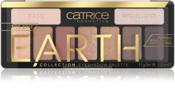 Catrice Epic Earth paleta senčil za oči