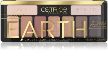 Catrice Epic Earth Παλέτα σκιών για τα μάτια