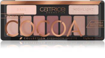 Catrice Matte Cocoa paletă cu farduri de ochi