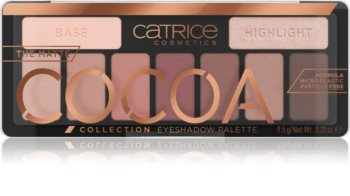 Catrice Matte Cocoa szemhéjfesték paletta
