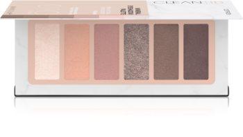 Catrice Clean ID Mineral paletă cu farduri de ochi