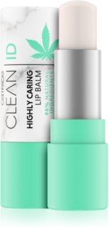 Catrice Clean ID balsam do ust z olejkiem konopnym