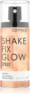 Catrice Shake Fix Glow spray pentru fixare și strălucire
