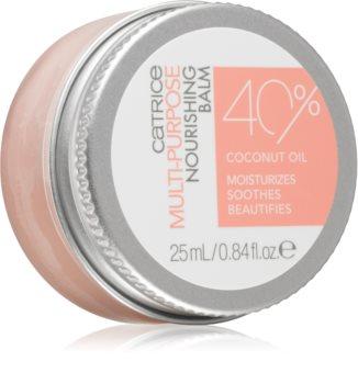 Catrice Skin Lovers  Multi-Purpose Nourishing Balm balsam de buze nutritiv cu ulei de cocos
