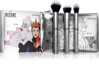 Catrice Disney Villains brush set with pouch