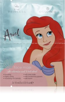 Essence Disney Princess Ariel Gesichtsmaske mit Bambus Butter