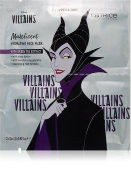 Catrice Disney Villains Maleficent arcmaszk zöld tea kivonattal
