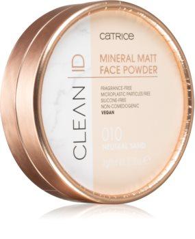 Catrice Clean ID Mineral pudra cu minerale