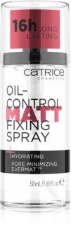 Catrice Oil-Control Matt ματ σπρέι φιξαρίσματος για το μεικ απ