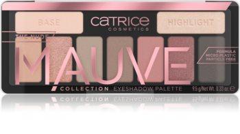 Catrice The Nude Mauve Collection paletă cu farduri de ochi