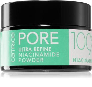 Catrice Pore Ultra Refine Niacinamide Powder puder sypki do skóry tłustej i mieszanej
