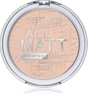 Catrice All Matt Plus matirajoči puder