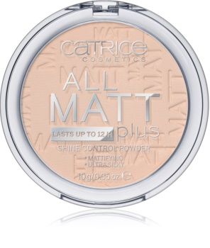 Catrice All Matt Plus матираща пудра