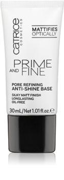 Catrice Prime And Fine baza matifianta pentru acoperirea porilor
