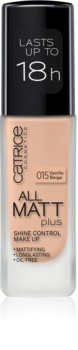 Catrice All Matt Plus fond de teint matifiant