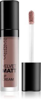 Catrice Velvet Matt матиращо течно червило