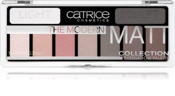 Catrice The Modern Matt Collection Lidschatten-Palette
