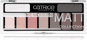 Catrice The Modern Matt Collection палитра от сенки за очи