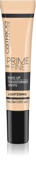 Catrice Prime And Fine világosító cseppek make-up-ba